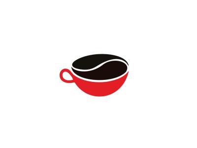 Coffee Cup Bean Coffee Bean Logo Coffee Logo Logo Design Coffee
