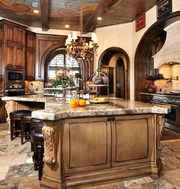 kitchen | Tuscan kitchen, Tuscan design, Old world kitchens