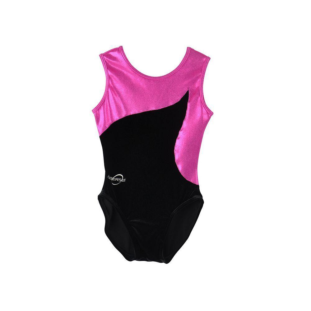 Pink Small Obersee Girls Gymnastics Shorts