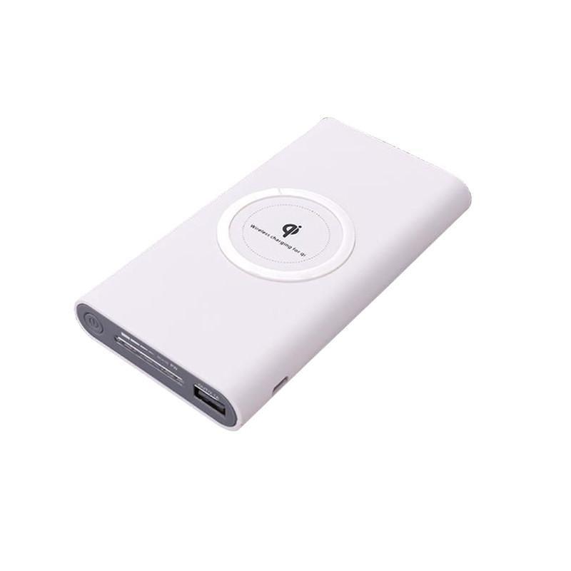 Qi Wireless Charging Power Bank High Capacity 10000 Mah Portable Power Bank And Wireless Charger For Iphone 8 Powerbank Wireless Charging Pad Wireless Charger