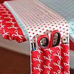 for the ironing board, scissor etc holder