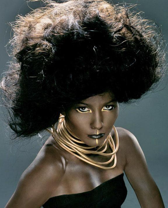 Ebony beauty tube