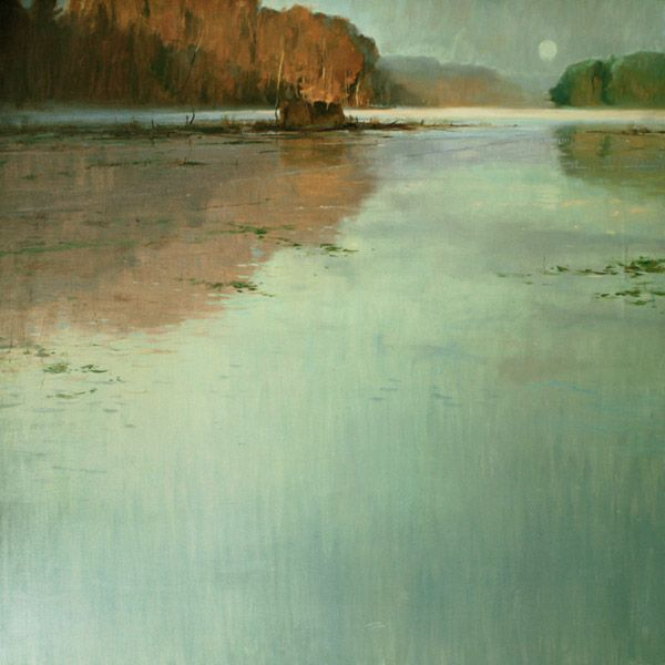 Kenn Backhaus   Morning Calm  48x48 oil/linen