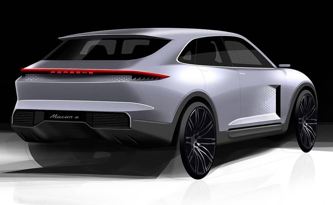 """Automotive design, car design on Instagram: """"Porsche Macan E Concept by Nishchint Gavate @nishchint_gavate  More project pics on motivezine.com  Explore classic cars design…"""""""