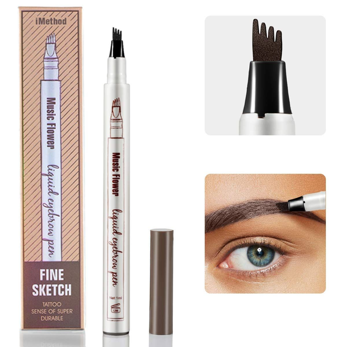 Eyebrow Tattoo Pen iMethod Microblading Eyebrow Pencil