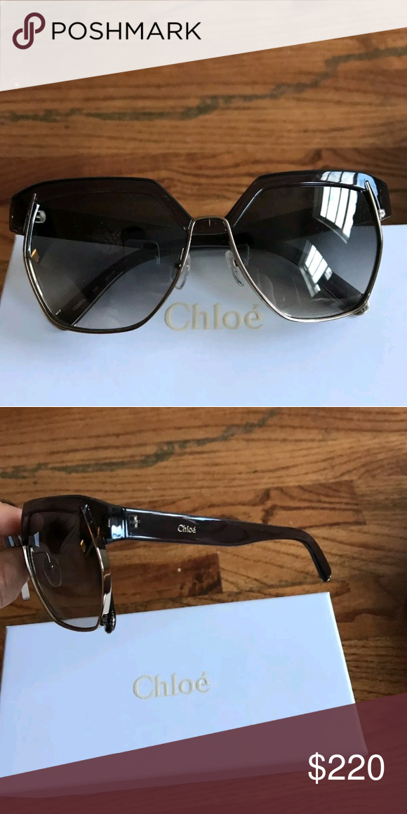 dfe33c1e007d CHLOE Dafne Sunglasses Like new