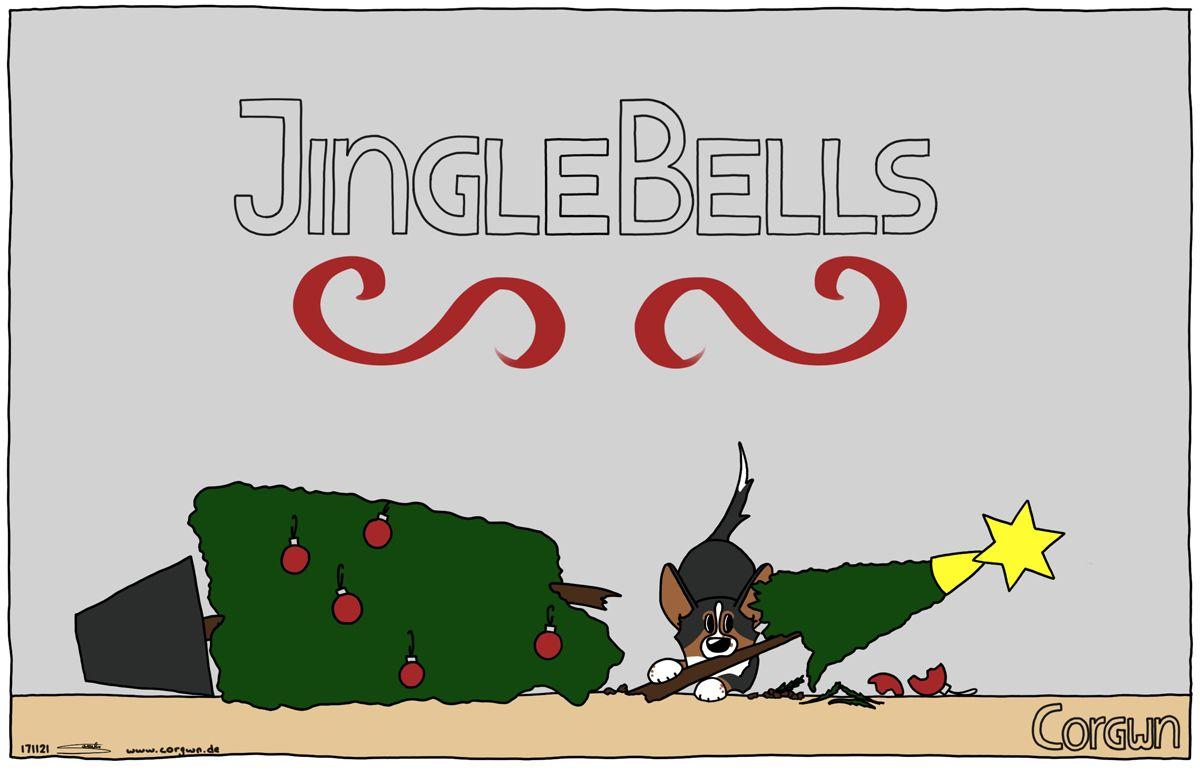 Happy holidays! #corgi #christmas #christmascards #corgis #comic ...