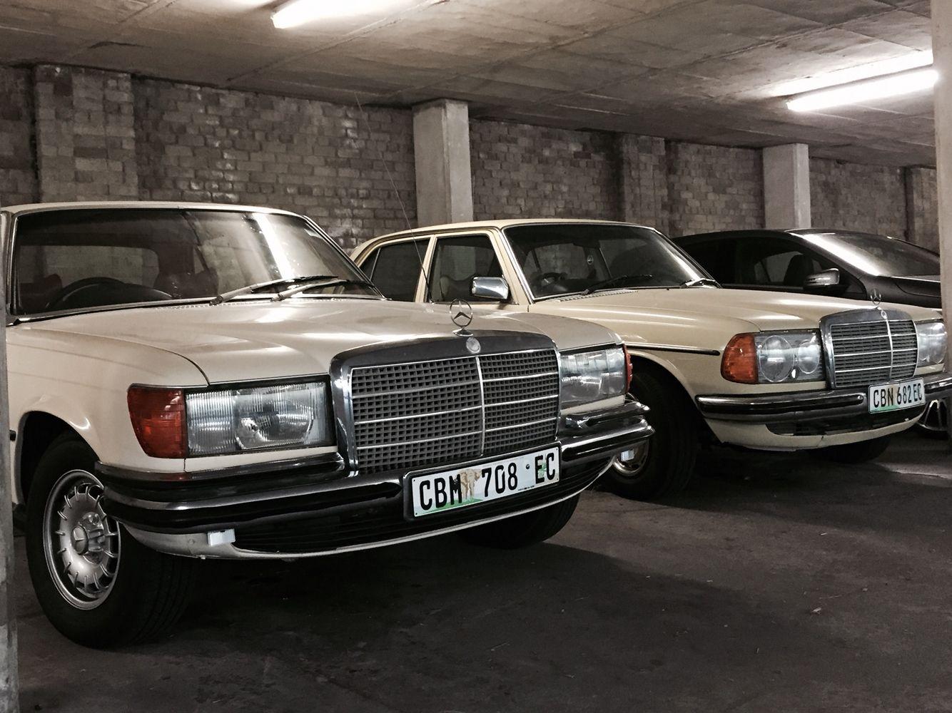 Mercedes W116 350se W123 240d With Images Mercedes Benz
