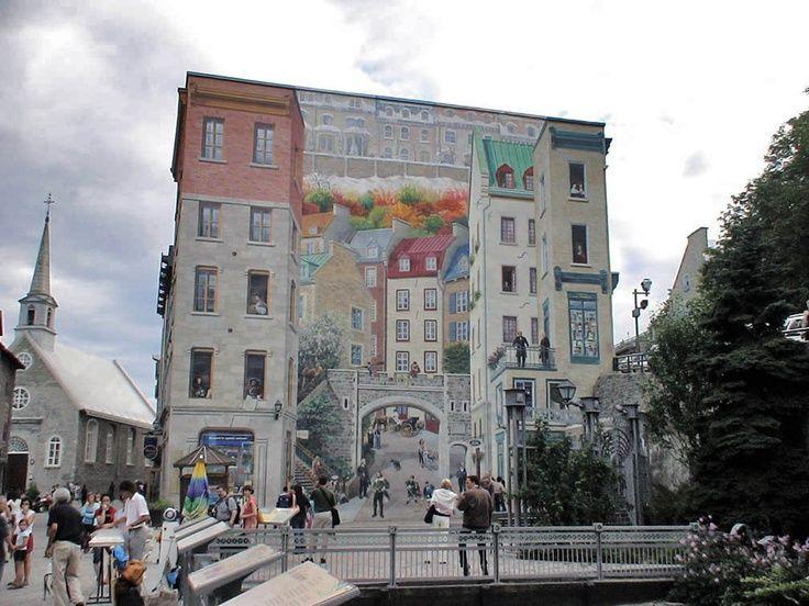 """quebec city street art   Wall Mural Quebec City"""" by Aleksandr ...   Murals, Chalk & Street Art"""