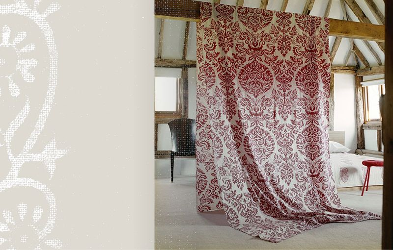 Les Innnes Block Printed Bedding Pillows Curtains And Table Linens For The Bohemian Home