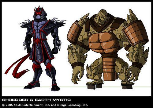 Original Oroku Saki In Shredder Style Armor Earth Mystic