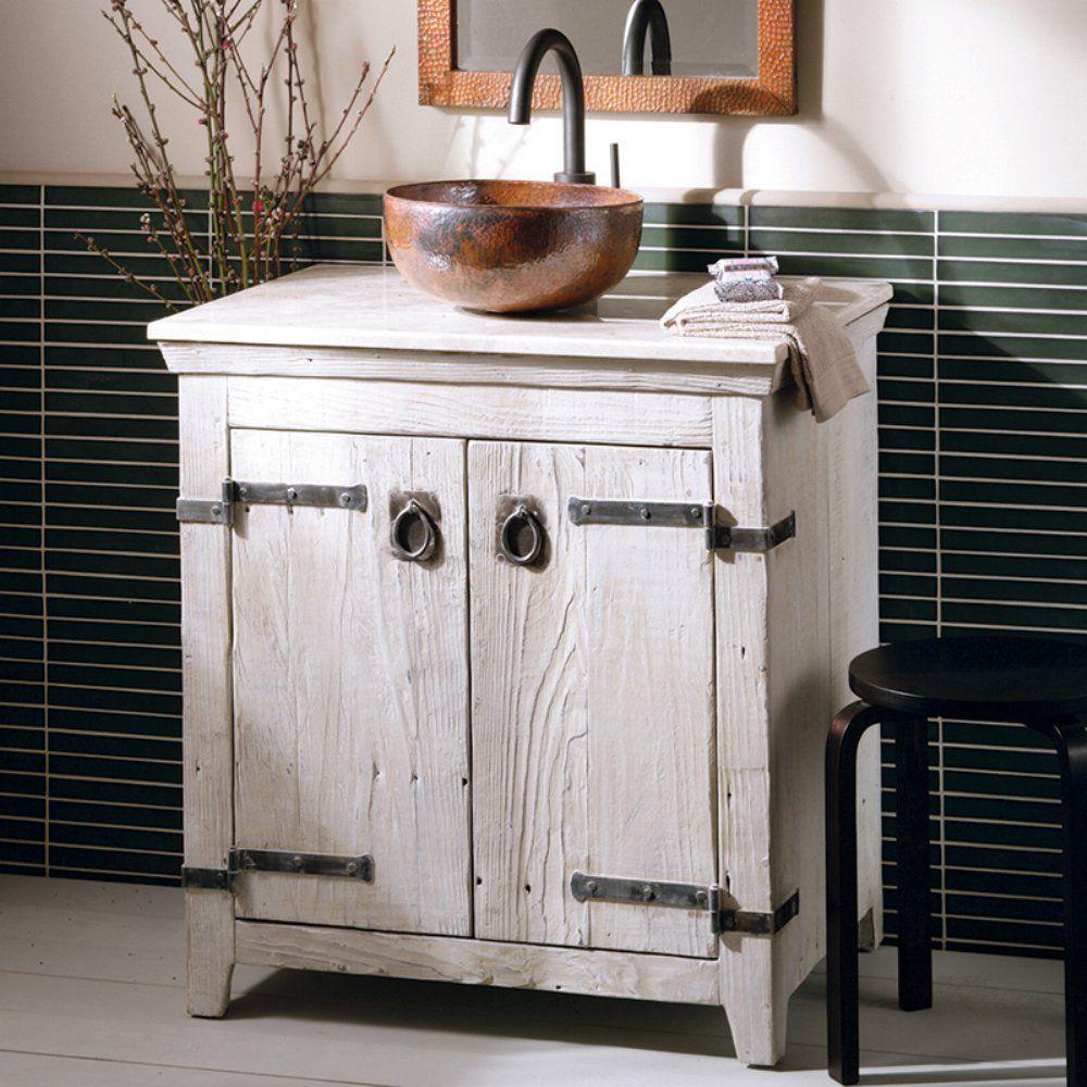 Native Trails Americana 30 in. Single Bathroom Vanity - The rich ...