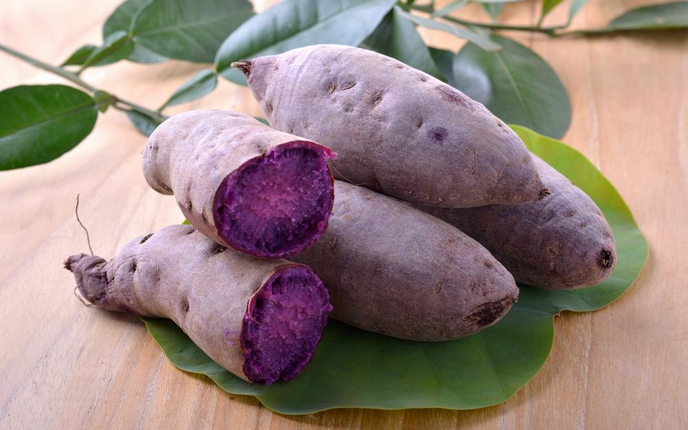 Ingredient Spotlight Ube The Purple Yams That Make Dessert Purple Sweet Potatoes Purple Yam Yams