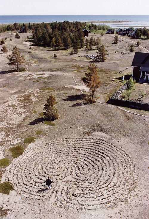 Labyrint Rödkallen, Bottenviken skjærgård.