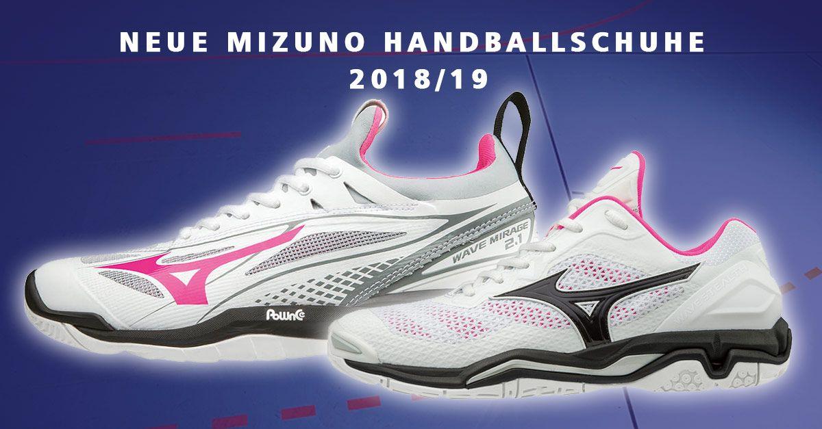 Die Neuen Mizuno Damen Handballschuhe Sind Da Der Wave Stealth V Und Die Wave Mirage 2 1 Fur Madels In Weiss Pink Wie Immer I Handball Schuhe Handball Schuhe