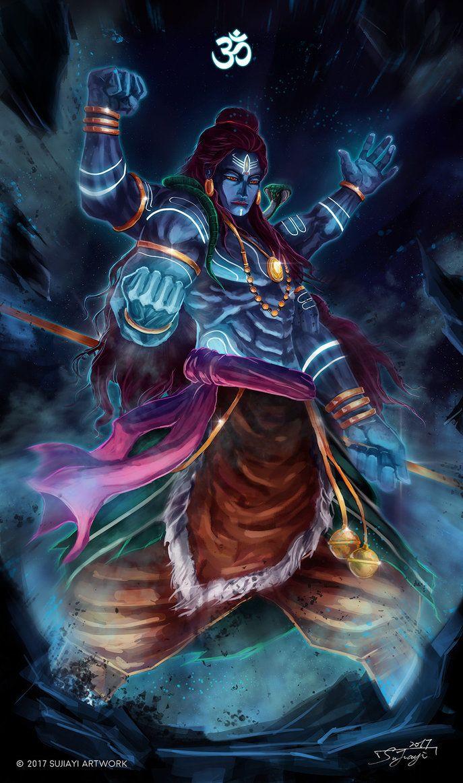 Shiva By Sujiayi Lord Shiva Painting Lord Shiva Shiva Lord Wallpapers