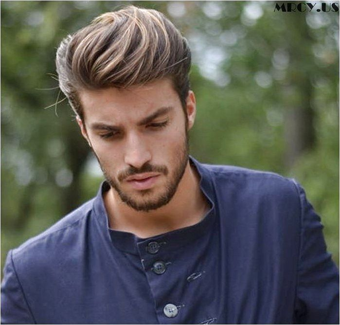 Pictures of Simple and Casual Cool Men Hairstyles with Beards, mens hairstyles casual and loose ...