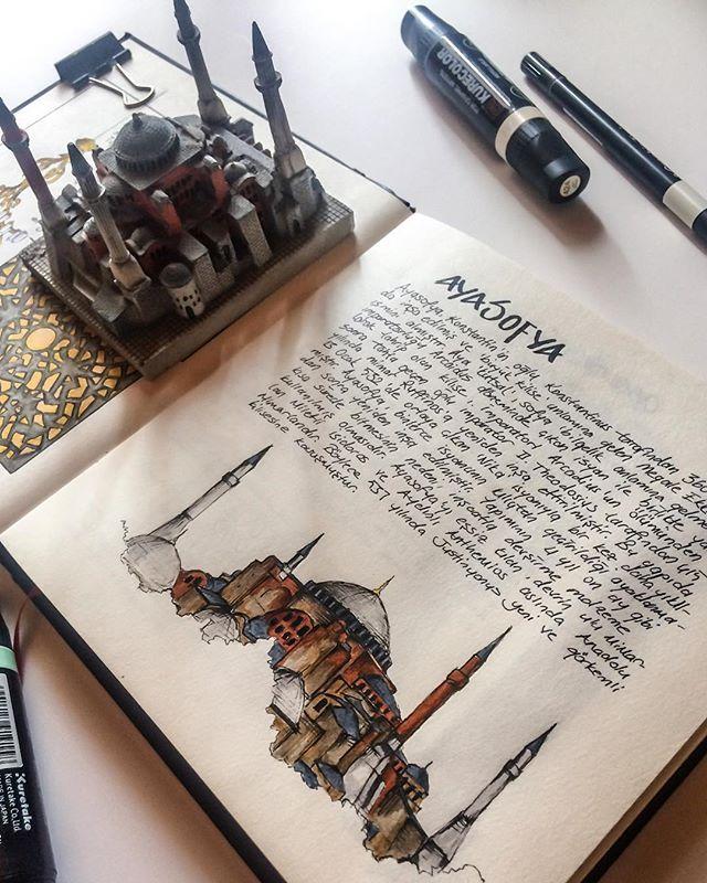 "Photo of Oğuzhan Çengel 💭 on Instagram: ""#art #architecture #building #sketch #sketchbook #sketchmuseum #sketch_arq #sketch_daily #sketch_architect #sketch_school #arqsketch…"""