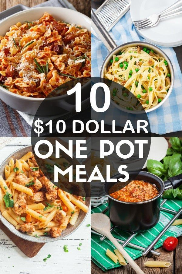 10 Quick & Easy One Pot Meals That Cost Less Than $10 To Make images