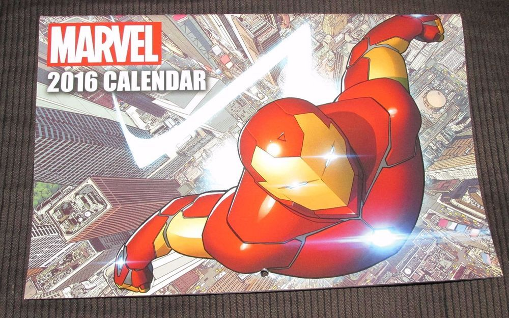 #Marvel 2016 Calendar Comic Sized #ebay