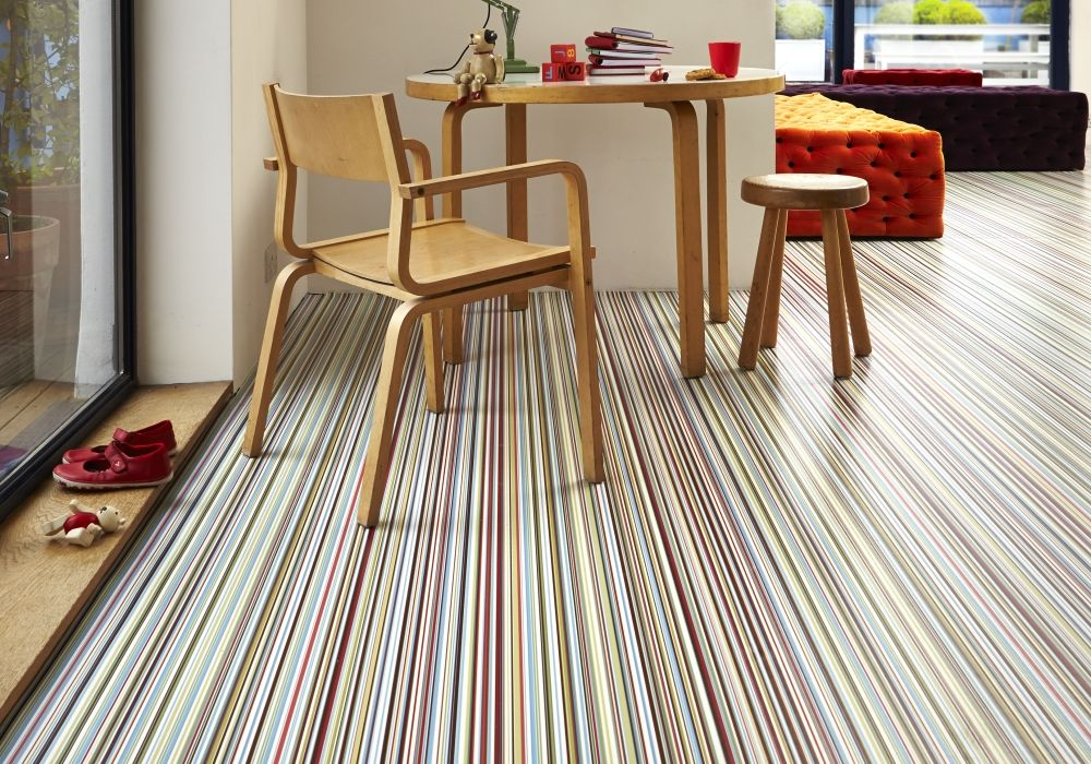 Best Patterned Vinyl Flooring Patterned Vinyl Ideas For