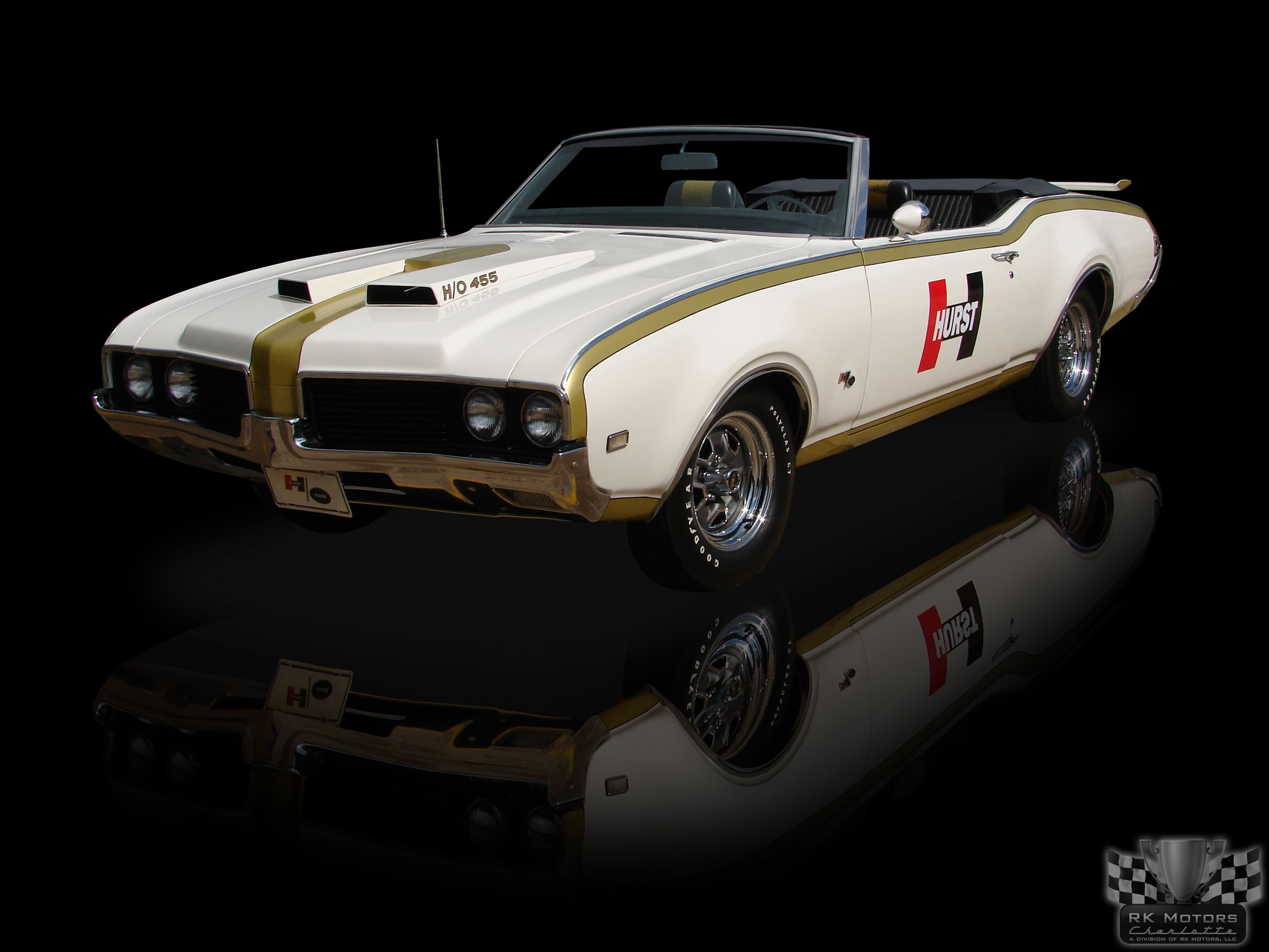 1969 oldsmobile 442 hurst olds convertible pace car 455 4 speed