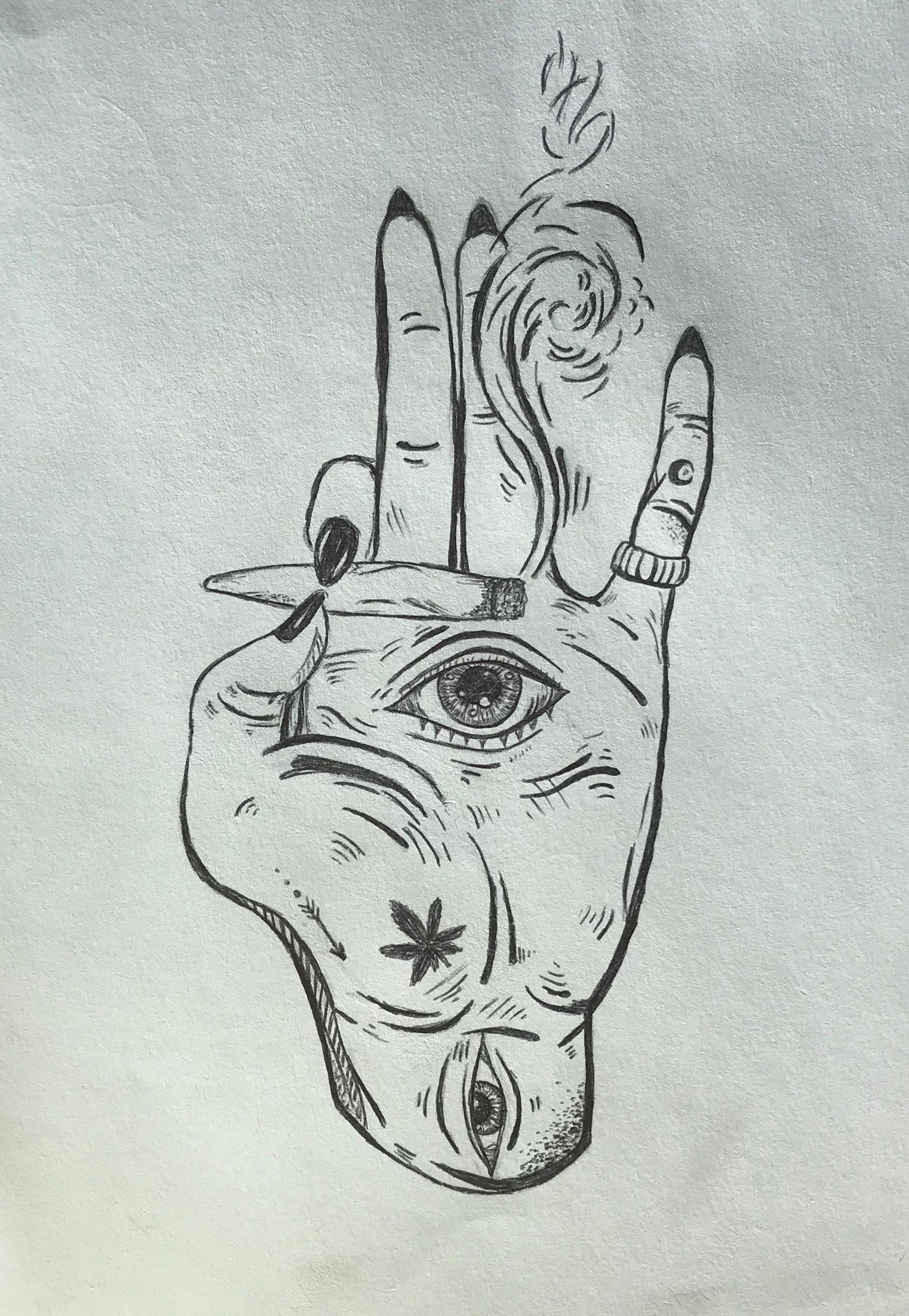 Trippy Stoner Tattoo Designs : trippy, stoner, tattoo, designs, Drawing, Daughter, Trippy, Drawings,, Sketches,