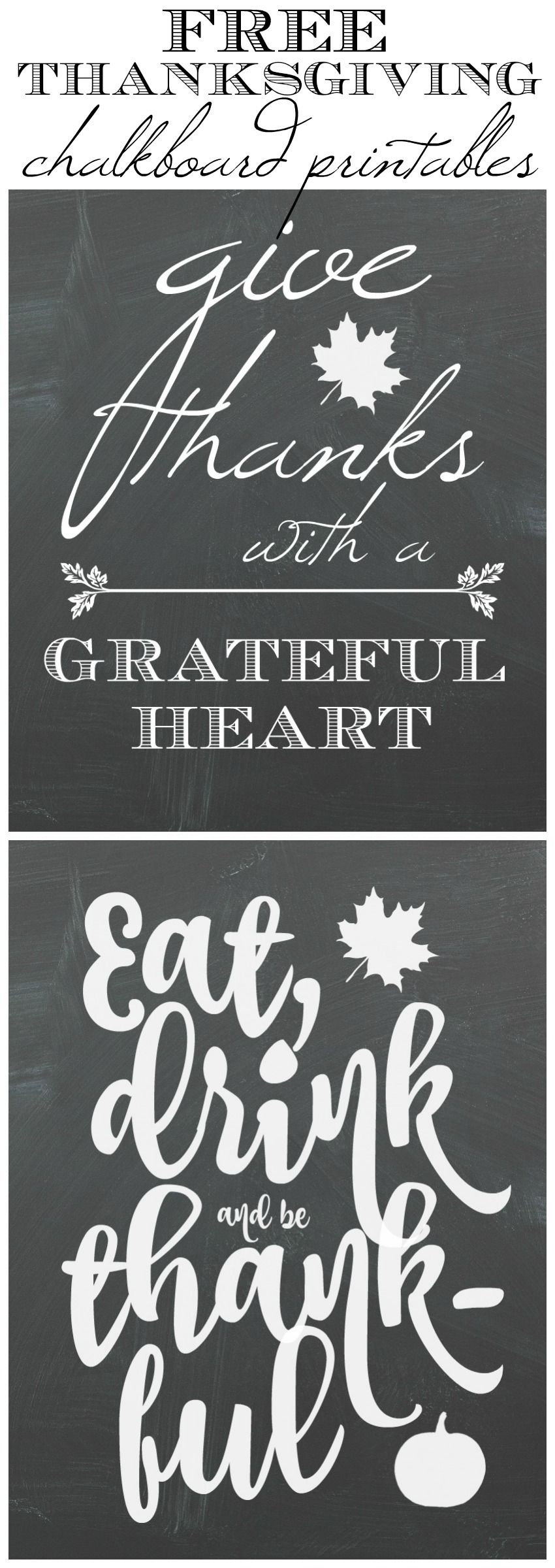 fall kitchen tour free thanksgiving chalkboard art printables