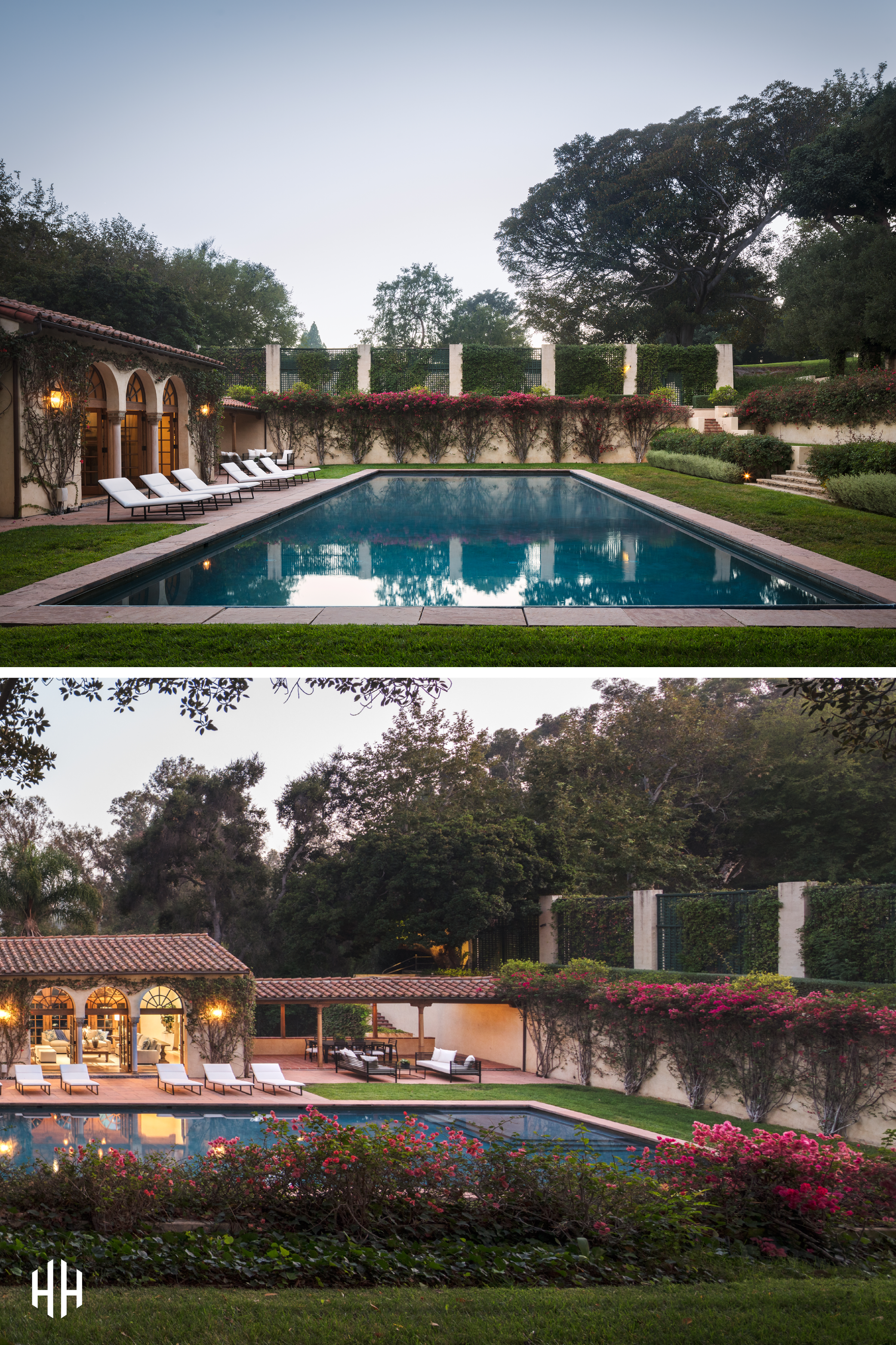 Set within a grand 10 acres in the middle of Holmby Hills