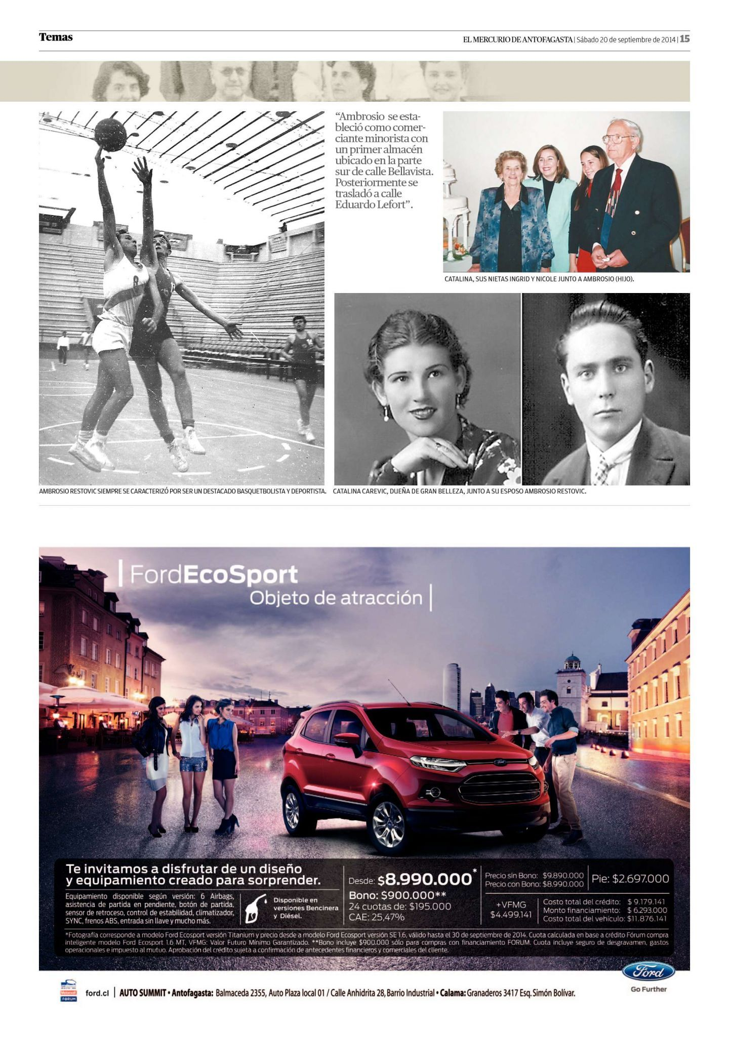 Página 15 - El Mercurio de Antofagasta