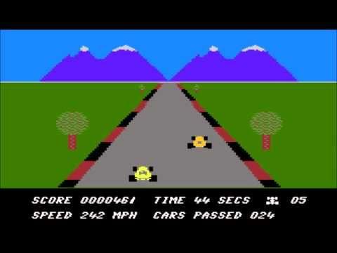 Death Race for the Atari 8-bit family - YouTube