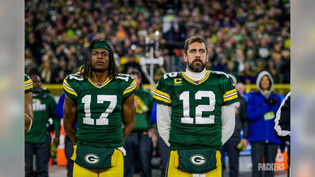 1 12 2020 Davante Adams And Aaron Rodgers In 2020 Aaron Rodgers Green Bay Packers Wallpaper Oakland Raiders