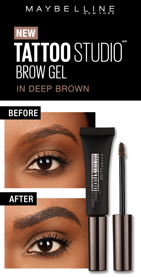 Tattoo Studio Waterproof Eyebrow Gel Creates Fuller Looking