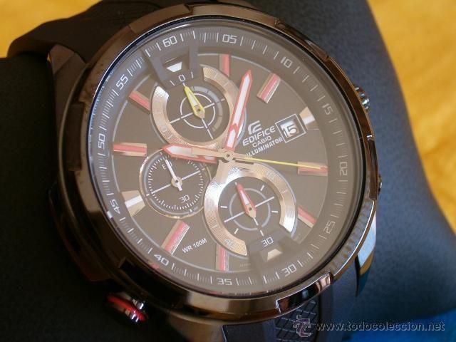 a5c7e2158a7a Reloj Casio Cronógrafo WR 100 EFR 536PB 1A3VEF