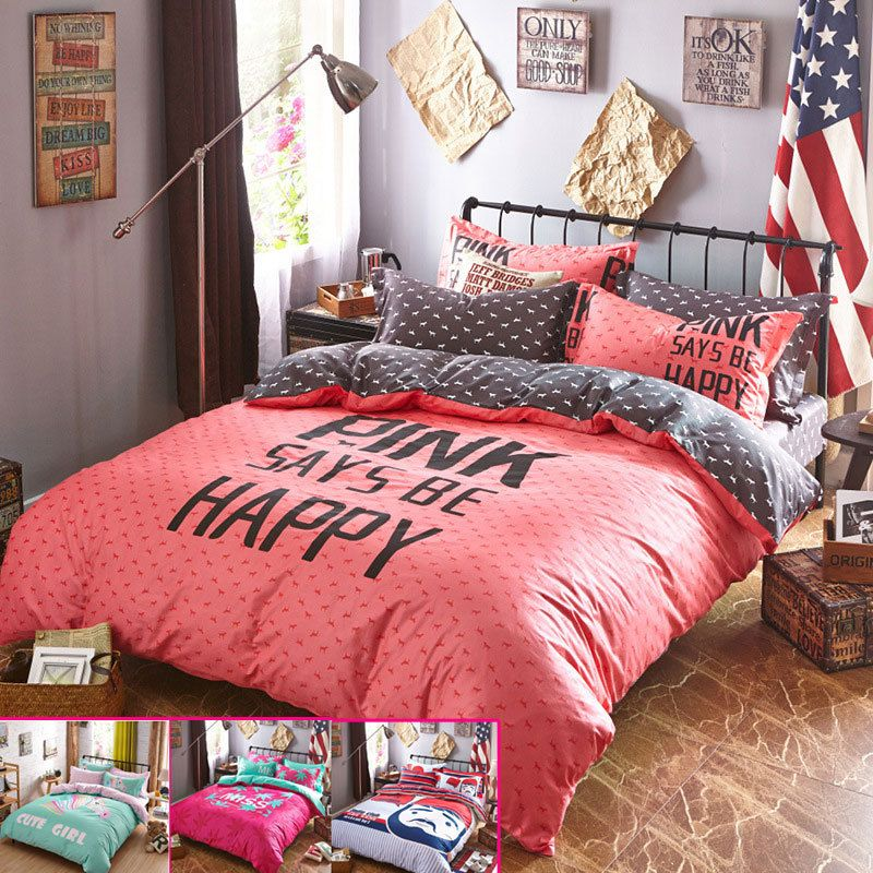 Charming Good Quailty Teen Bedding Set/bed Sets Cotton Teen Bed Covers/bed .