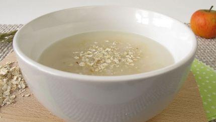 طريقة عمل شوربة الشوفان باللحم والتوابل Recipe Food Oatmeal Desserts