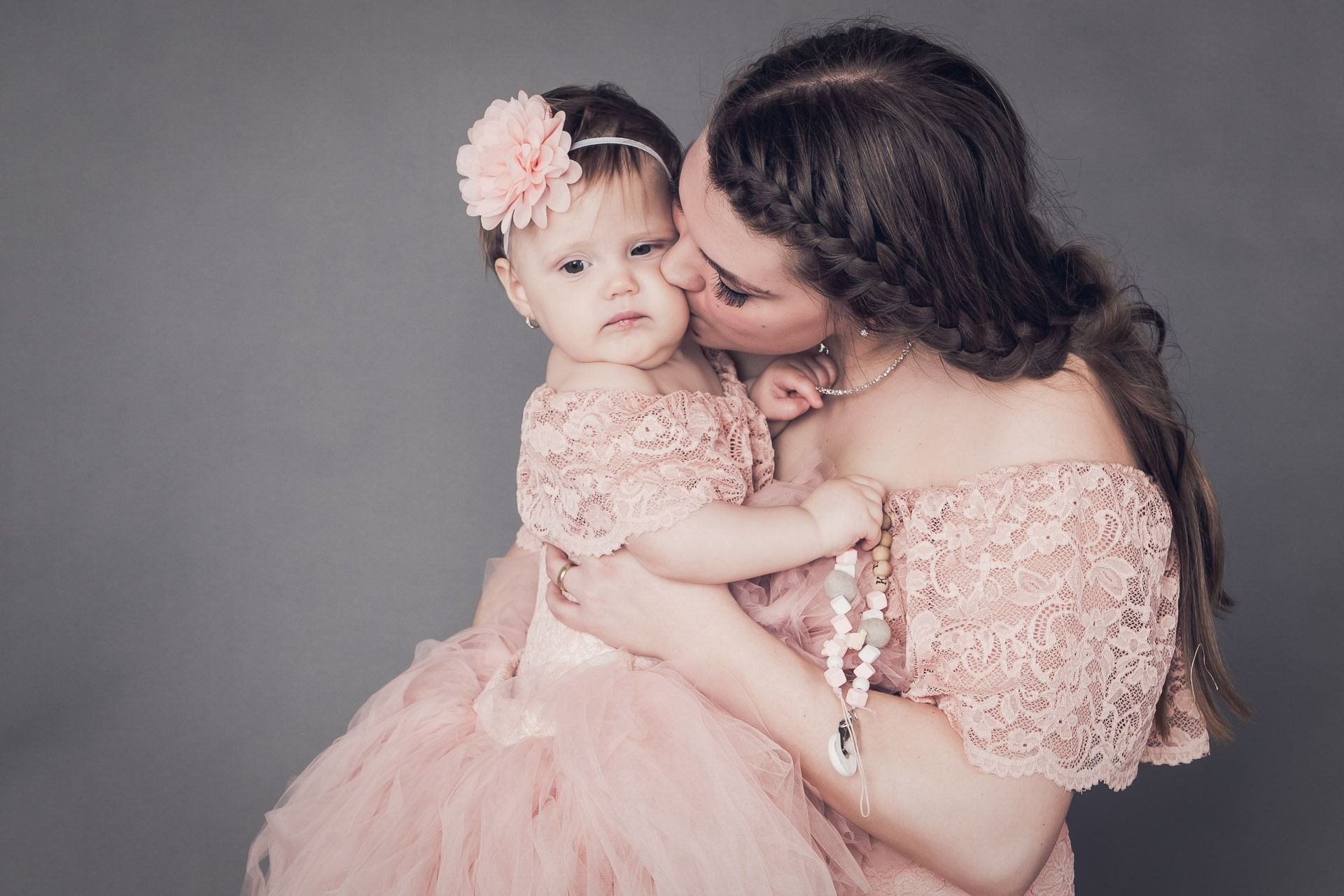 Photo of Mommy and me lace dresses, Blush pink lace dress fr mommy and daughter