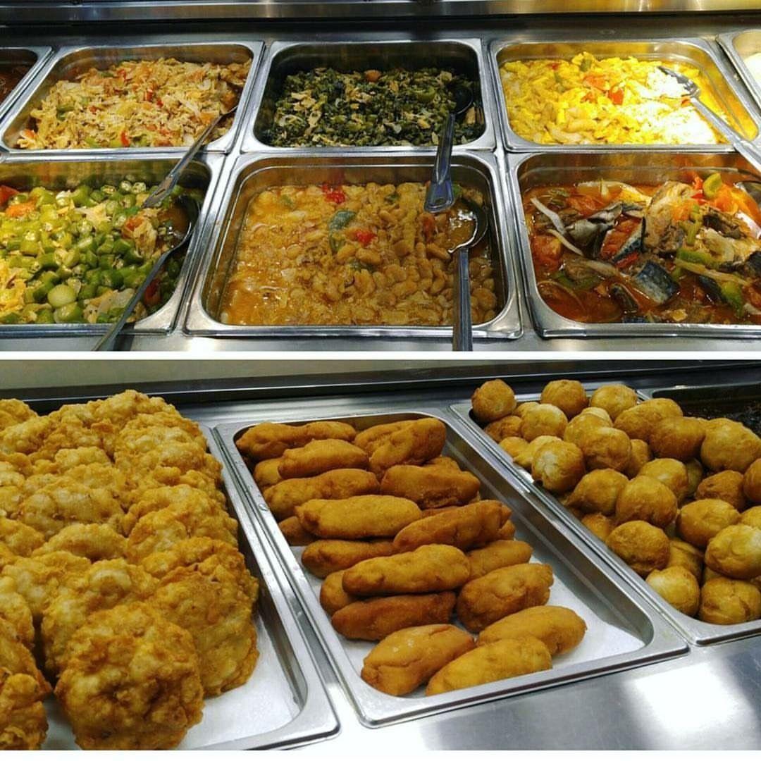 Perfect Jamaican Buffet!!🇯🇲🇯🇲😁👍🏾