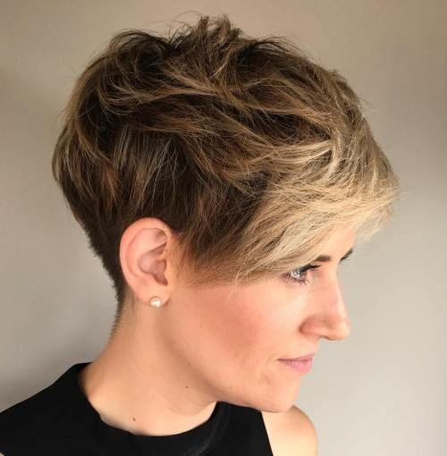 Bilder von kurzen Frisuren | Frisur | Pinterest | Pixie ...