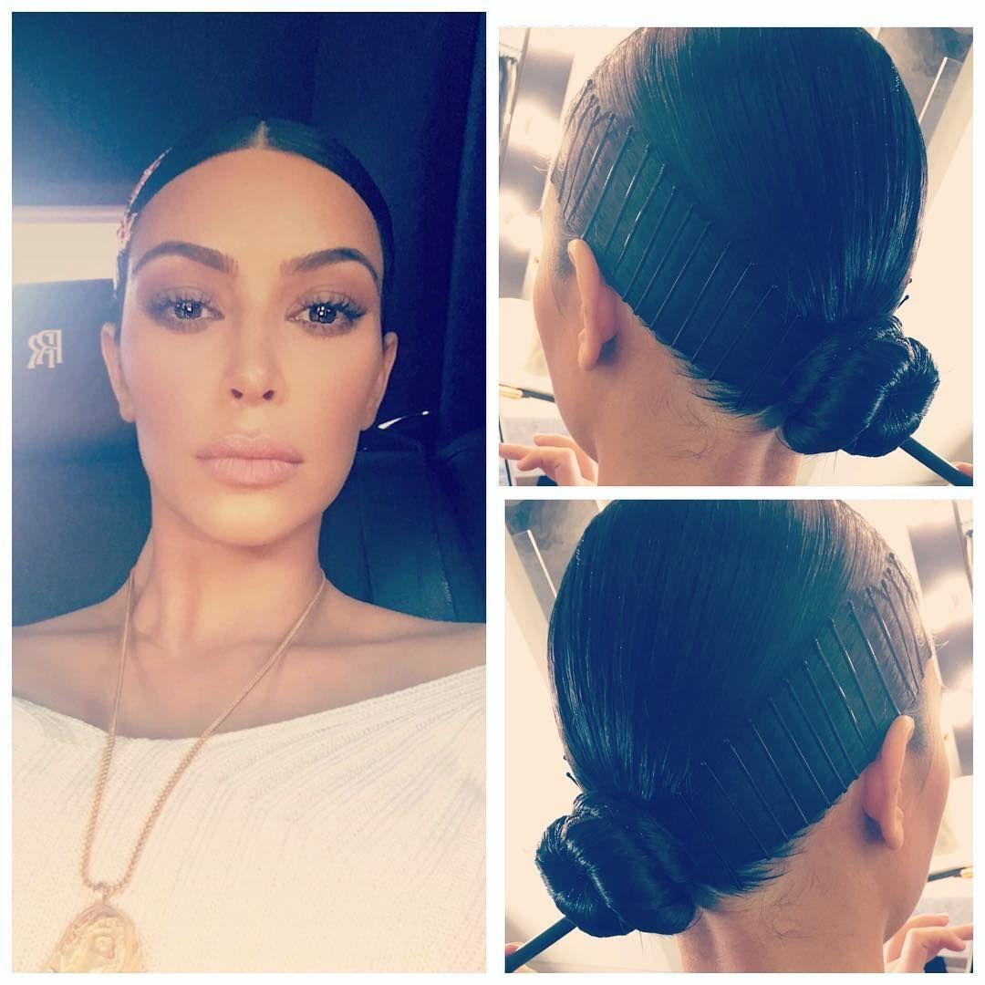 Kim Kardashian Doobie Wrap Hair Controversy March 2017 Popsugar