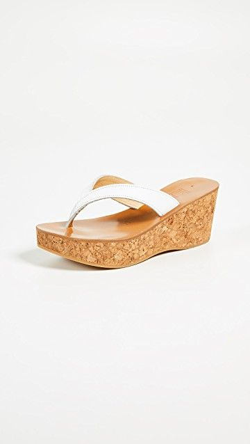 K. JACQUES | Diorite Thong Wedges #Shoes #K. JACQUES