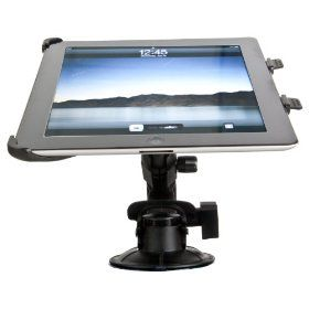 Delkin DDMOUNT-IPAD2-MINI Fat Gecko iPad Mounting Kit for 2nd Generation iPad  ($25.00) Universal Tripod Thread  Fat Gecko male tripod thread allows you to connect any camera, camcorder or photography device. iPad Mount Accessory female tripod thread allows you to connect to any standard tripod, monopod or Fat Gecko Mount  Tested with devices up to 4 lbs. (1.81 kg) in weight  360 Tilt, Turn and Rotation  Includes Optional 3 Extension Shaft