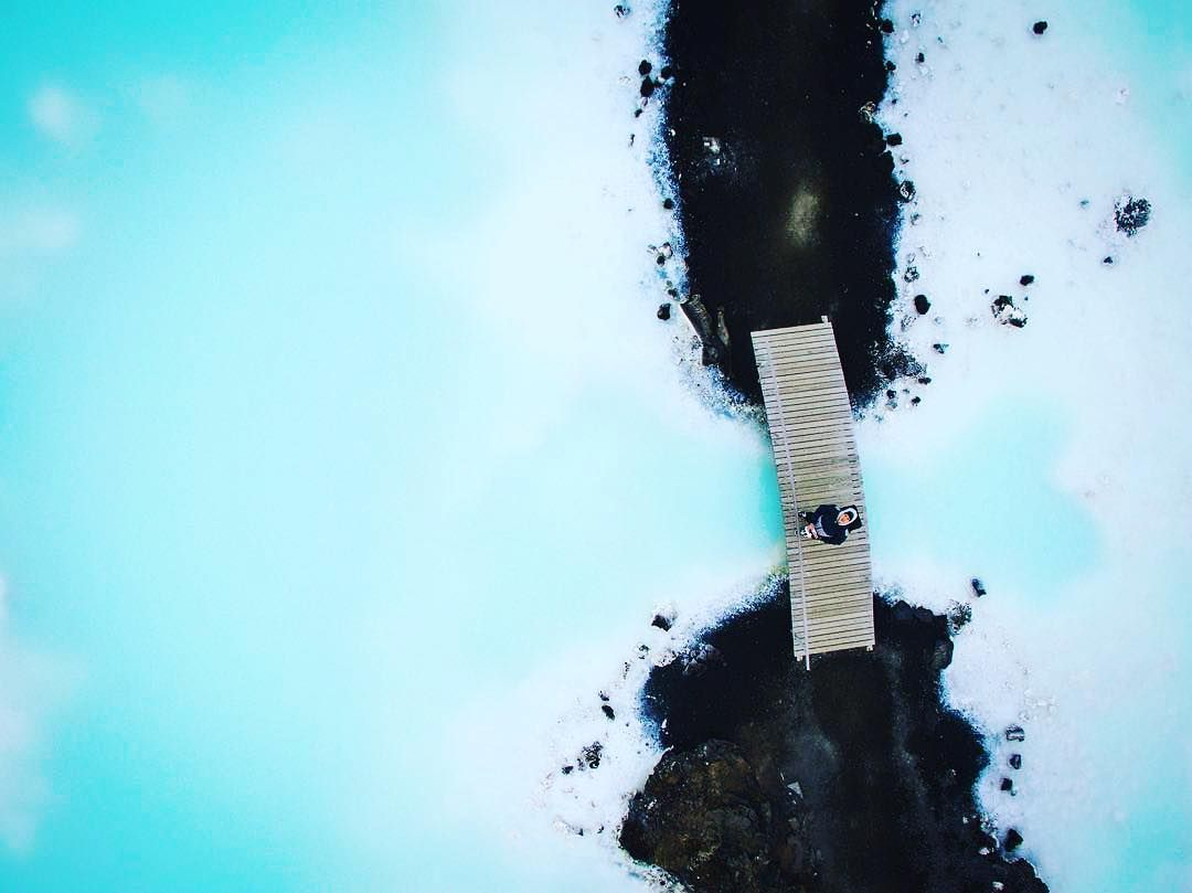 It's like a dream #BlueLagoon #Iceland