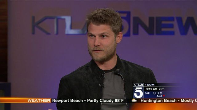 Click to watch an interview with Travis Van Winkle. His mom is there too.