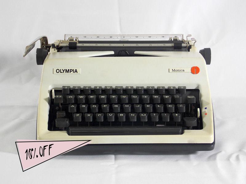 Máquina de escrever - R$315