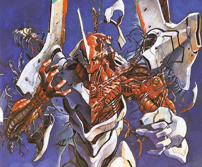 Interview Legendary Evangelion Illustrator Yoshiyuki