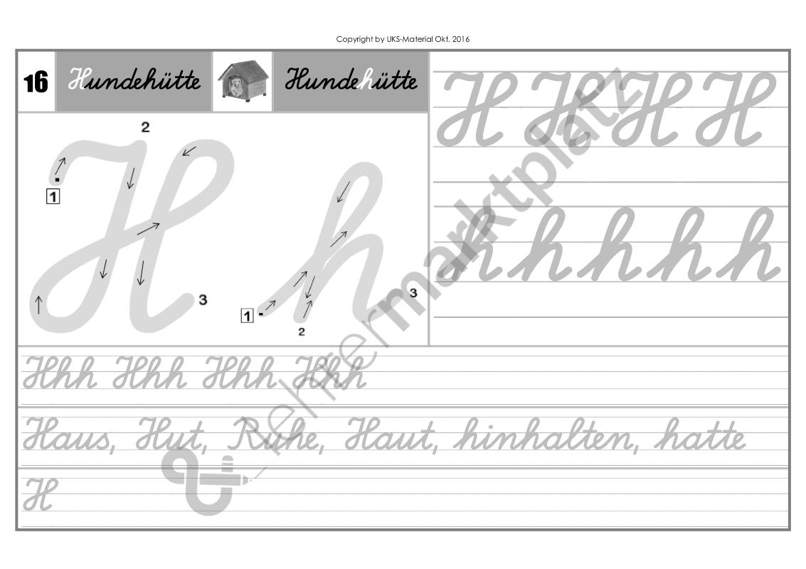 Schreiblehrgang Lateinische Ausgangsschrift KOMPLETTPAKET - Seite 20 ...