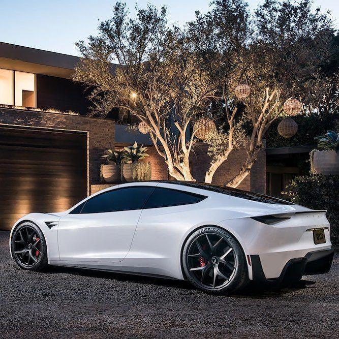 Electric Sports Car, Tesla