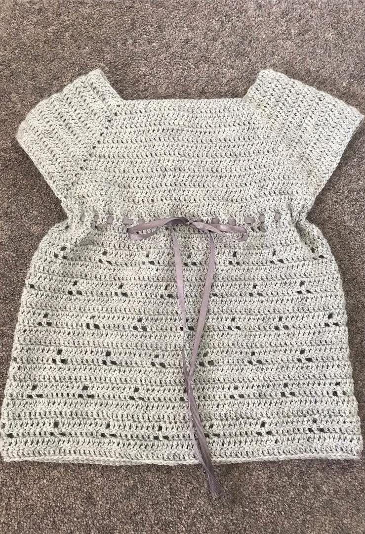 39 preciosos patrones de vestido de bebé de ganchillo | Vestidos ...