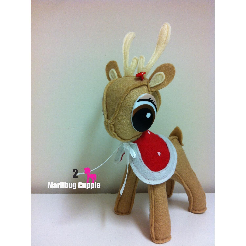 58.00 Christmas Reindeer No. 2 Girl by MarlibugCuppie on